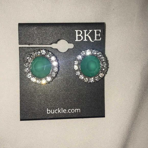 BKE Jewelry - NWT Buckle earrings